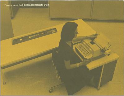 B5500 console SPO