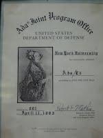 Validation certificate for Ada/Ed interpreter